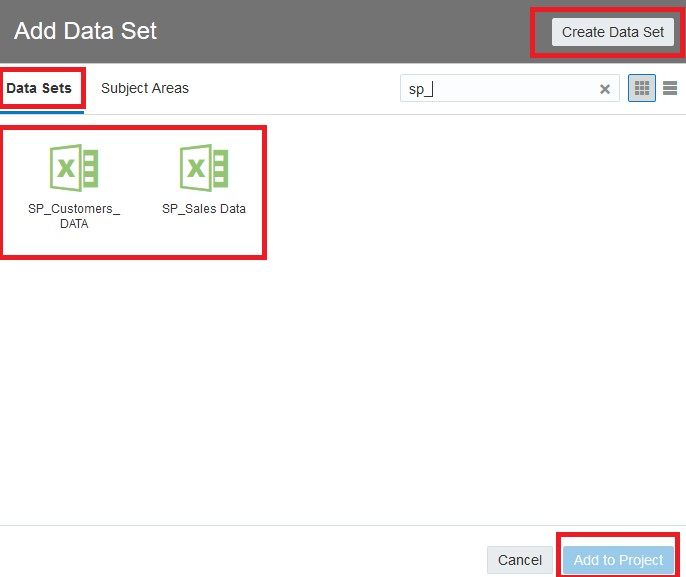Create a Project and Data Source